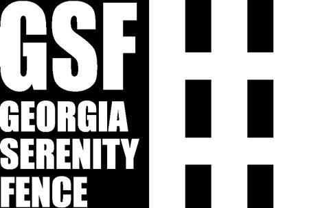 Georgia Serenity Fence